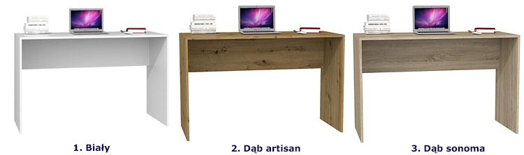 Nowoczesne biurka komputerowe Luvis 2X