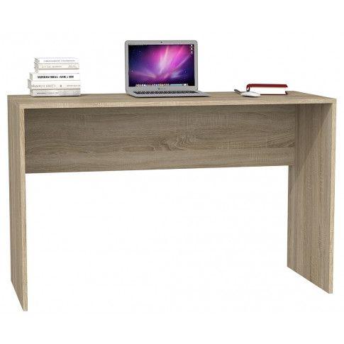 Zdjęcie produktu Nowoczesne biurko Luvis 2X - dąb sonoma.