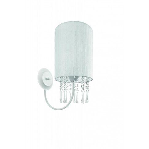 Zdjęcie produktu Kryształowy kinkiet E014-Wenez - biały.