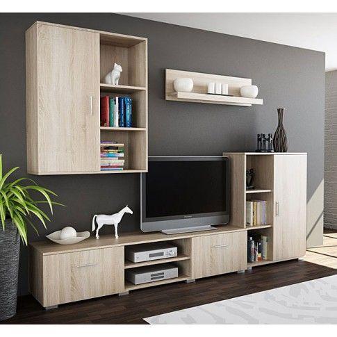Zdjęcie produktu Zestaw mebli pod TV Pixelo 7X - Dąb sonoma..