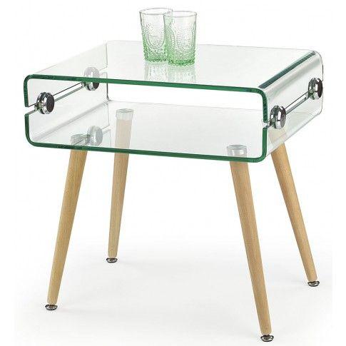 Zdjęcie produktu Ława z giętego szkła Vilia.