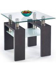 Kwadratowy stolik kawowy Karis 2X - wenge