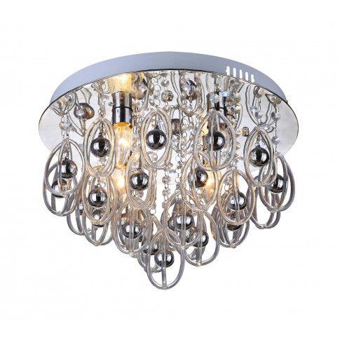 Zdjęcie produktu Plafon LED zdalnie sterowany E128-Hissan.