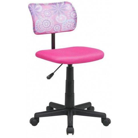 Zdjęcie produktu Obrotowy fotel dziewczęcy Didi - różowy.