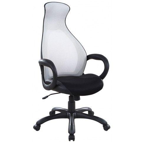 Zdjęcie produktu Fotel obrotowy Abner - popiel + czarny.