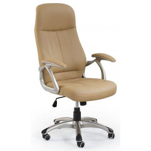 Zdjęcie produktu Fotel obrotowy Afiks - beżowy.