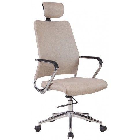 Zdjęcie produktu Fotel obrotowy Stuart - beżowy.