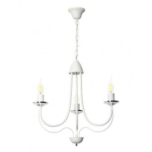 Zdjęcie produktu Żyrandol świecznikowy E236-Nicolo - biały.