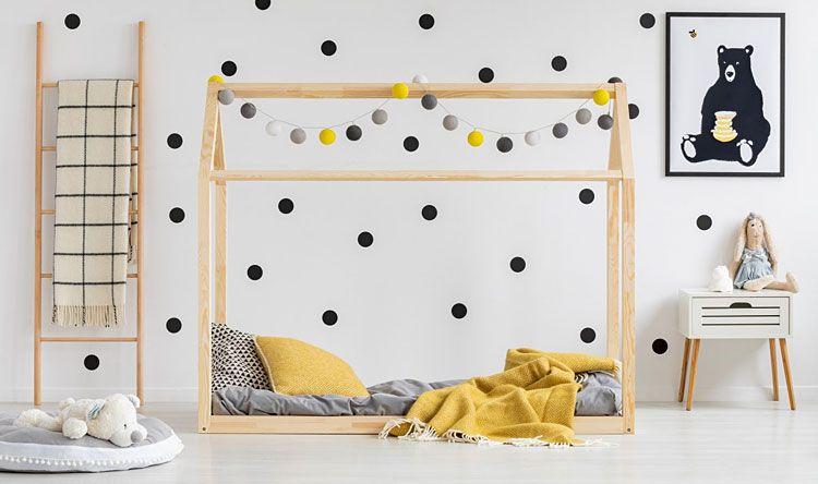 Łóżko domek dla dziecka Miles 3X