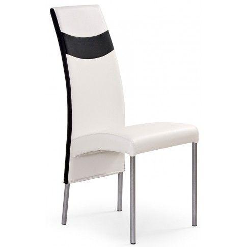 Zdjęcie produktu Krzesło tapicerowane Inter - białe.