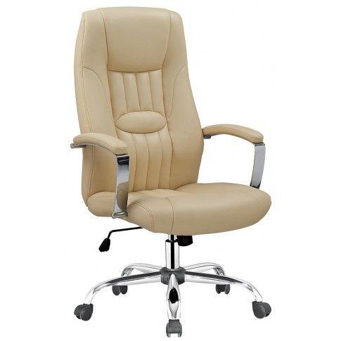 Zdjęcie produktu Fotel obrotowy Rexor - beżowy.