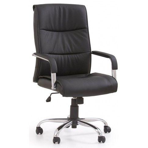 Zdjęcie produktu Fotel obrotowy Ruffin - czarny.
