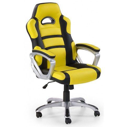 Zdjęcie produktu Fotel obrotowy Dager - żółty.
