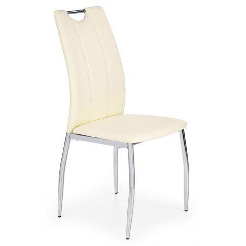 Zdjęcie produktu Krzesło tapicerowane Jacob - Białe.