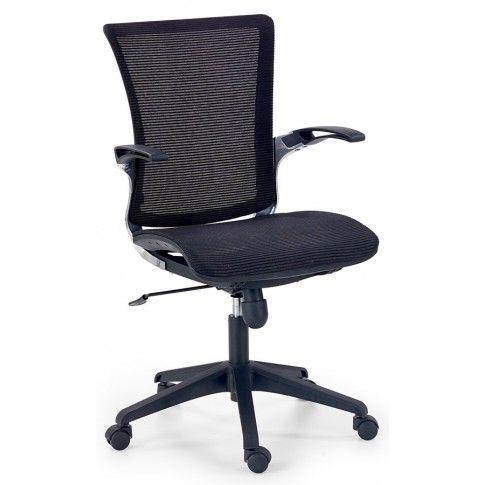 Zdjęcie produktu Aluminiowy fotel obrotowy Daster - czarny.