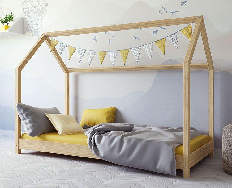 Łóżko dziecięce domek Olaf