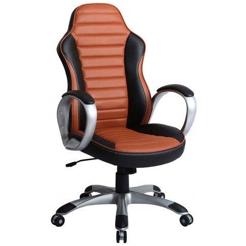 Zdjęcie produktu Fotel obrotowy Medon - brązowy.