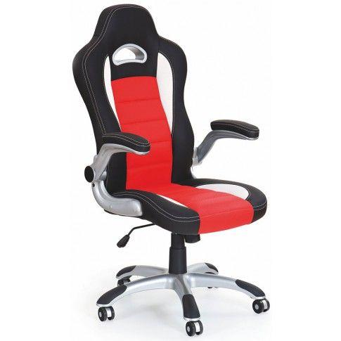 Zdjęcie produktu Fotel obrotowy Nerox - czerwony.