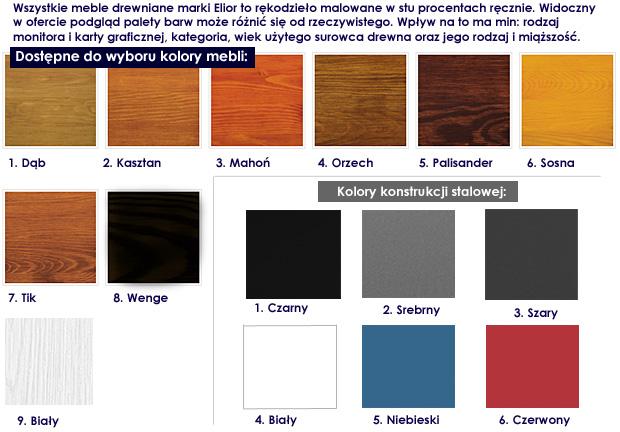 kolory stolika