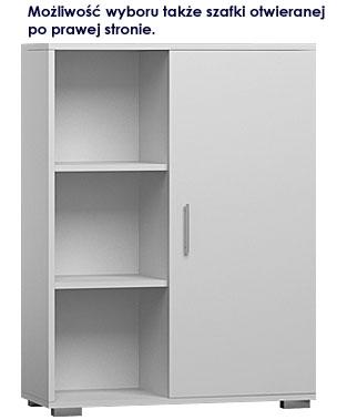 komoda biała Pixelo do garderoby