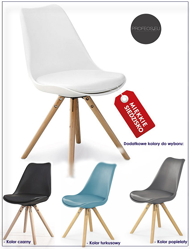 krzesło skandynawskie Depare