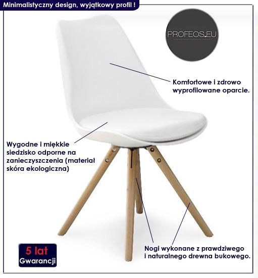 krzesło drewniane Depare