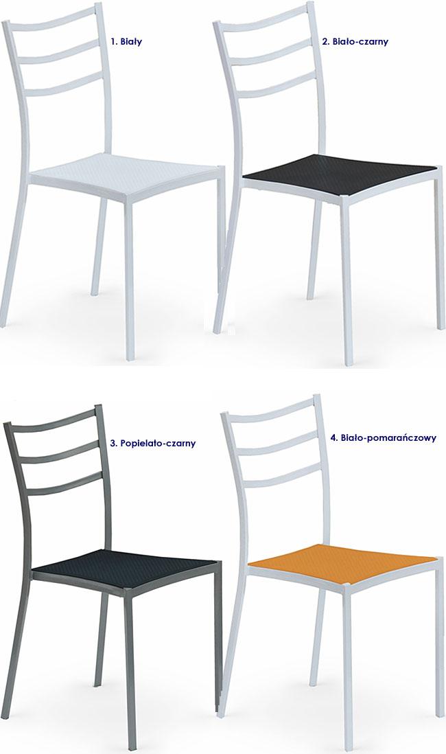 krzesło metalowe Midler