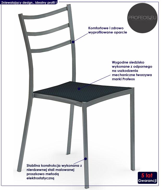 Krzesło kuchenne Midler