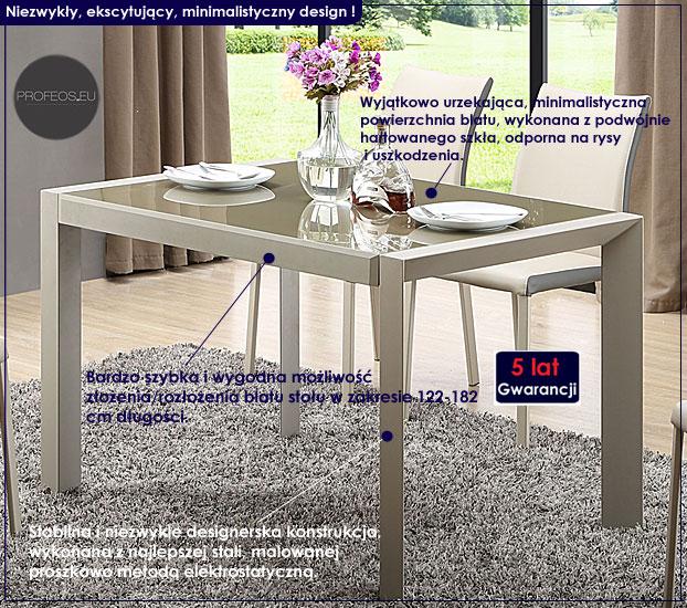 rozkładany stół Arafis