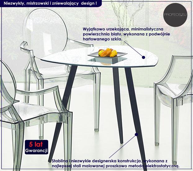 stół szklany Artes