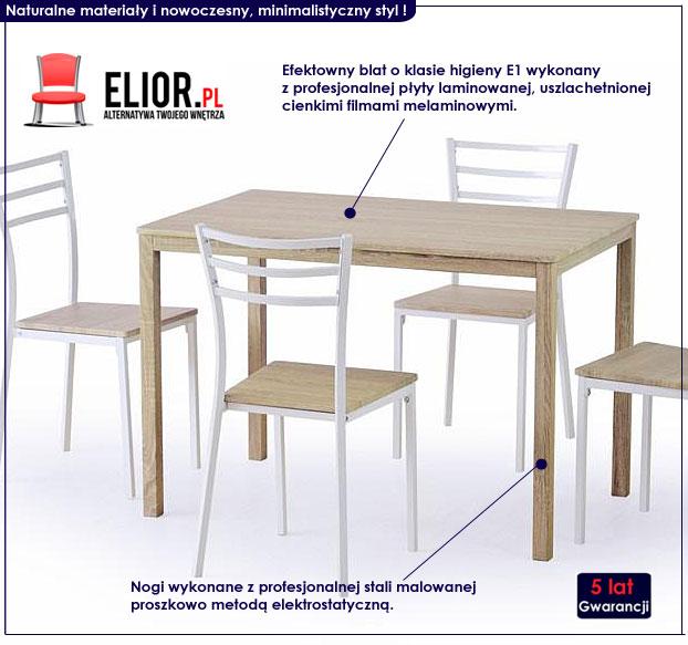 stół z krzesłami Avast