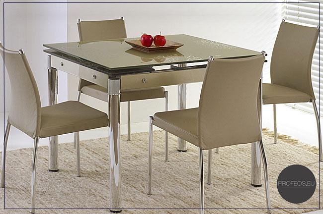stół szklany Delros