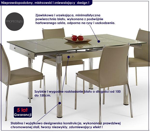 Rozkładany stół Delros