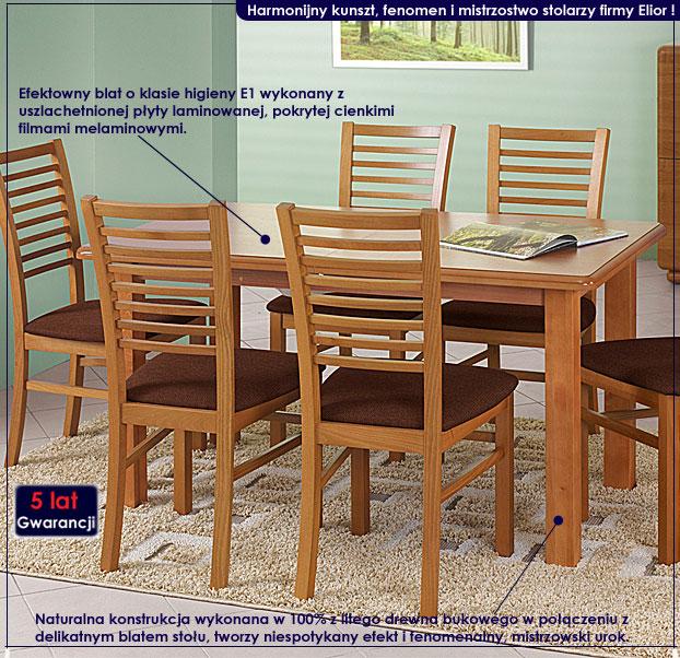 stół drewniany Denon