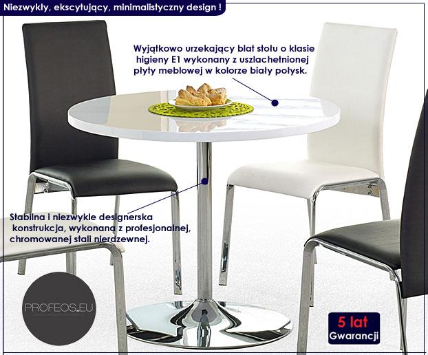 Stół wysoki połysk Desir