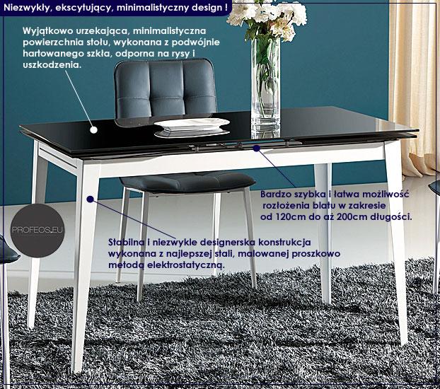 Stół rozkładany Detris