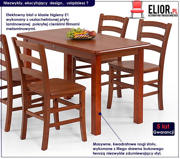 stół drewniany Dinos