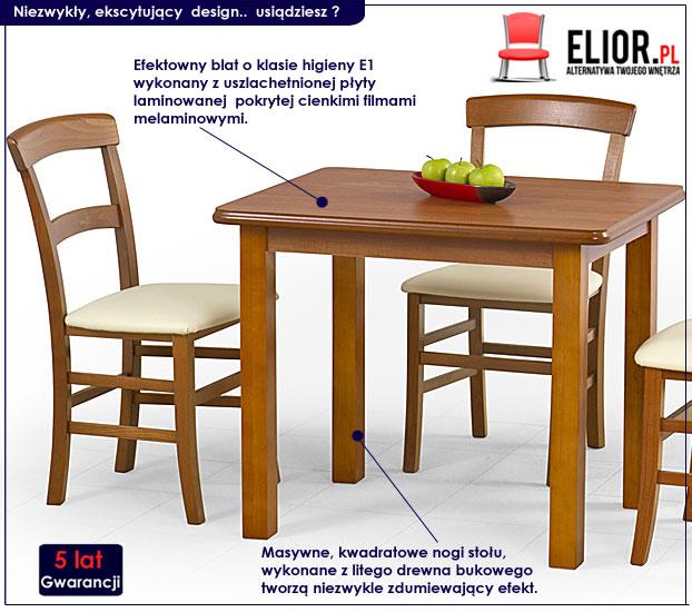 drewniany stół Dinos