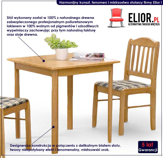drewniany stół Expon