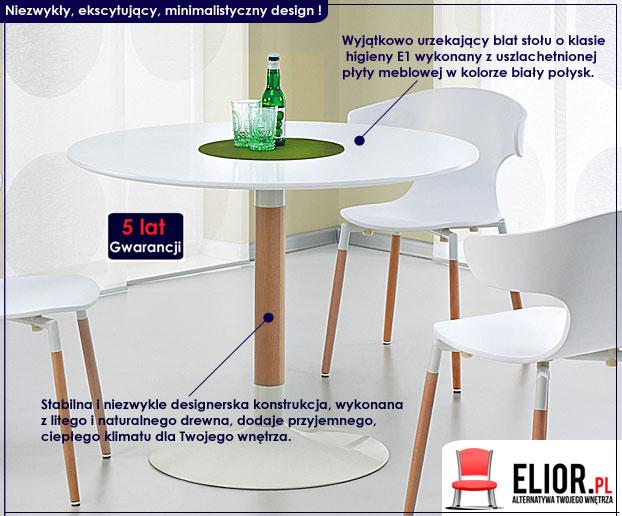 stół okrągły Ostil