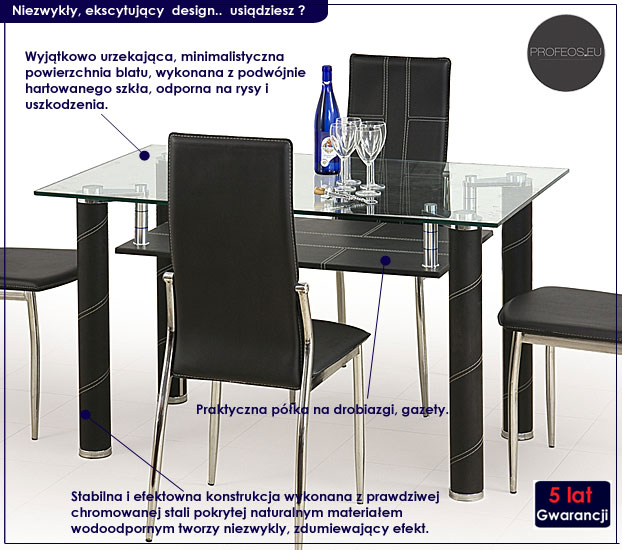 stół kuchenny Raven