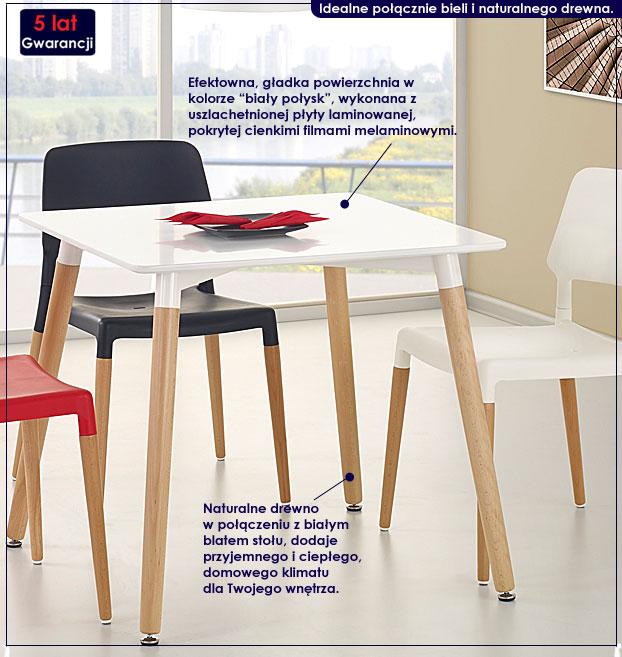 stół inelo S3 kwadratowy