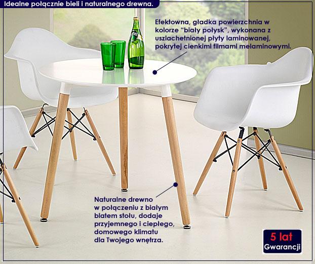 okrągły stół Inelo S4