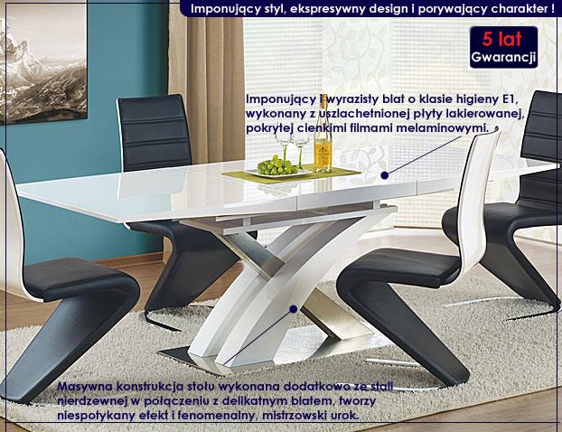 stół lakierowany Zander