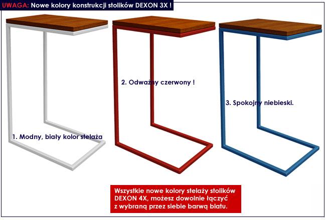 stolik pod komputer dla dziecka Dexon 3X