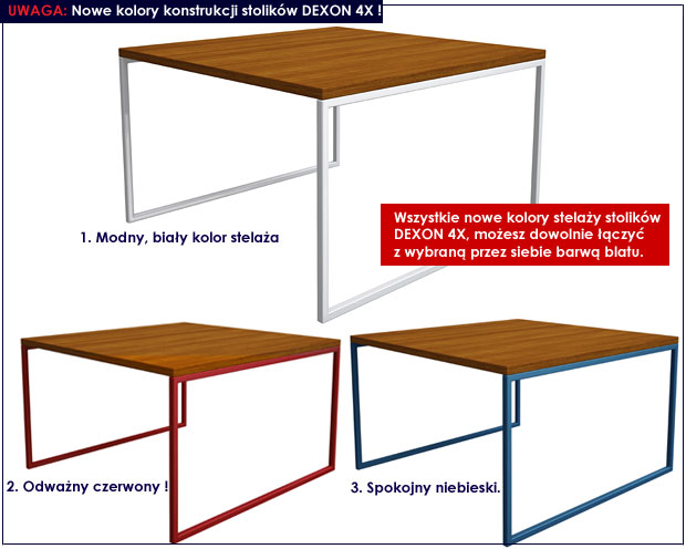 stolik dla dziecka Dexon 4X