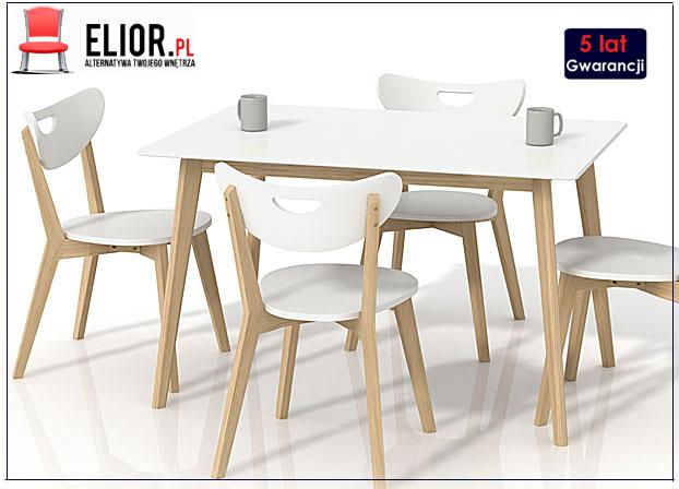 stół kuchenny Inelo S7 biały
