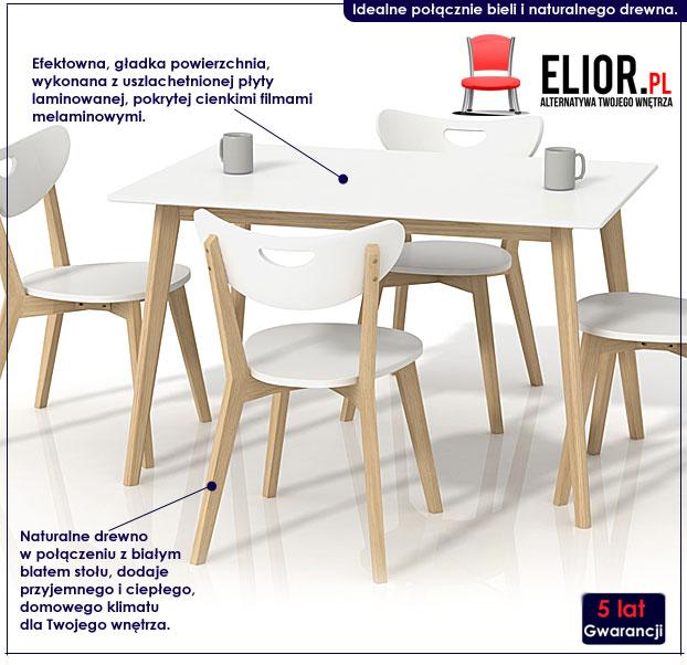 prostokątny stół Inelo S7