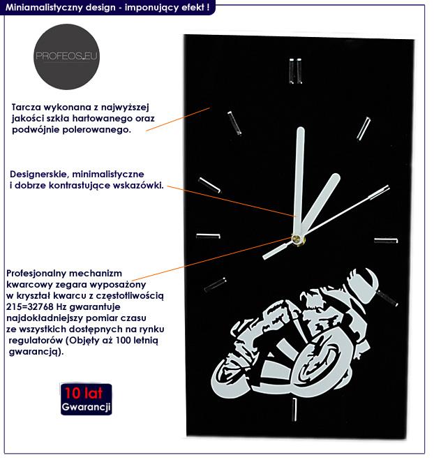 zegar szklany motocykl Liptos 5R